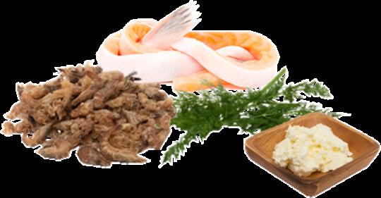 Garnelen-Lachs Mix, gefroren 500g