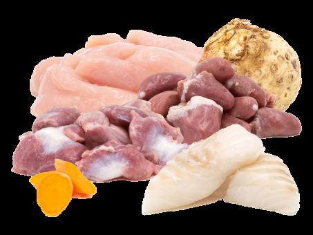 "Hähnchen & Fisch ""A-I-O Fresh"" , gefroren 2x250g"